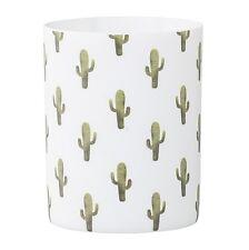 """Bloomingville """"Jade"""" Votive Windlicht Kaktus weiß Kakteen grün Porzellan"""