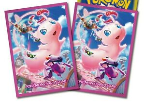 Mew Pokemon Center Exclusive Anime Card Sleeves *NEW* 64ct