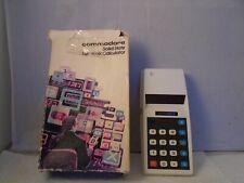 Vintage Commodore Solid State Electronic Calculator 774 D (RARE, RARE UNIT)