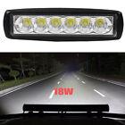 Hot 18W Spot 6LED Light Work Bar Lamp Driving Fog Offroad SUV 4WD Car Boat Truck