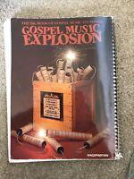 Gospel Music Explosion:151 Songs Music Book