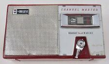 Red Channel Master  Vintage Transistor Radio
