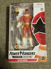 POWER RANGERS LIGHTNING COLLECTION ZEO RED RANGER IN HAND NEW TOMMY OLIVER