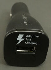 OEM Samsung Adaptive Fast Car Charger For Galaxy S6 S7 Edge Note 4 5 (Black)
