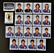 Panini FIFA World Cup South Africa 2010 Complete Team Japan + Foil Badge