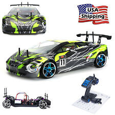 HSP Rc Drift Car 4wd 1/10 Scale Electric Power On Road FlyingFish RTR High Speed