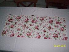 Tischlaeufer Tischdecke Weiss Rosali 40x100cm Tischdeckchen Tischdeko Rosen Neu