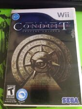The Conduit Special Edition Nintendo Wi-Fi Connection For Wii Very Good 7E