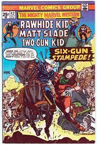 The Mighty Marvel Western #42 Oct.1975 Rawhide Kid Matt Slade Two-Gun Kid
