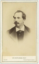 CDV circa 1870. Louis Gueymard, ténor par Reutlinger à Paris. Opéra.