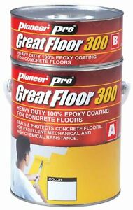 GreatFloor-300, Epoxy flooring system, High chemical resistance