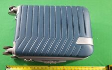 """22"""" Blue It Luggage Hard Shell Expander Rolling Bag."""