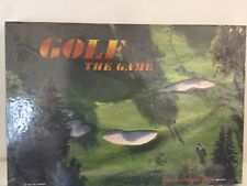 GOLF THE GAME- A Game of Chance & Trivia Board Game 1995 Sealed NEW A M Company