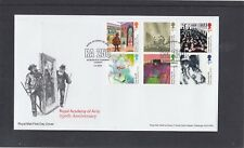 GB 2018 Royal Academy of Arts paintings FDC Fine Art  London W1 special pmk