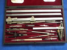 More details for harling's of london technical drawing set with 2 sets beam compasses.