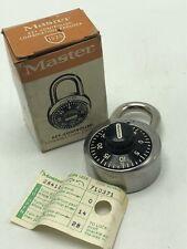Vintage Master Lock Key-Controlled Combination Padlock 1525 USA