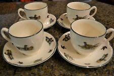 "4 Piece - Johnson Brothers Fine English Tableware ""Game Bird"" Tea Set"