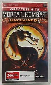 MORTAL KOMBAT UNCHAINED Sony PSP Playstation with booklet