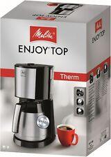 Melitta Enjoy Top Therm 1017-08 - Kaffeemaschine Filtermaschine mit Thermokanne