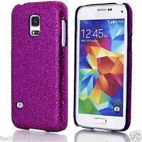 Cromo Brillante Funda para brillante Tapa Dura Samsung Galaxy S2 S3 S4 S5 Mini