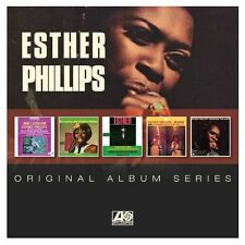 ESTHER PHILLIPS - ORIGINAL ALBUM SERIES - 5CD BOXSET NEW SEALED 2016