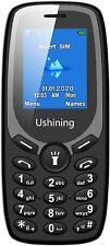 Ushining Unlocked Basic Feature Phone Dual Sim Card Unlocked Cell Phone with Sof