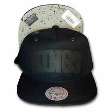 Original Mitchell & Ness Los Angeles Kings Snapback Cap Cement NHL schwarz