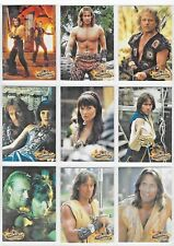 HERCULES  THE LEGENDARY JOURNEYS    PROMO  CARD SET H1 TO H9    9 CARDS