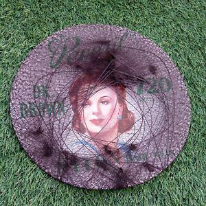 Peveril 1940's carded nylon hair nets 720 mesh