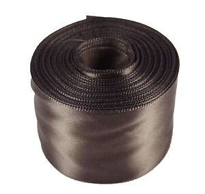 """Rolled up 1-1/2"""" SINGLE FACE SATIN Ribbon 100% Polyester Choose Color & Yards"""