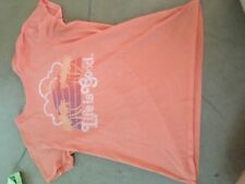 Life is Good Short Sleeve Tee Shirt Orange Sunset Women's Medium Classic Fit