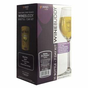 WineBuddy 30 Bottle White Zinfandel