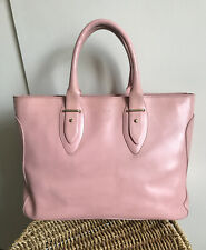FURLA Vintage Pink Tote Handbag with dust bag. Used, in Good Condition