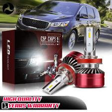 H11 H8 H9 LED Headlight Bulbs 12000LM Kit Low Beam Upgrade 6000K Fog Light DWS