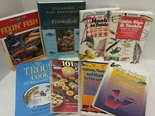 Lot of 8 books on Game Fish cooking
