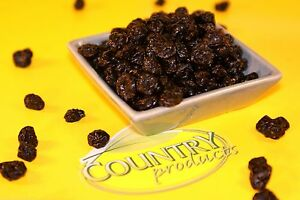 Country Products Blueberries Dried Fruit - 1 Kilo Snack Excellent Quality