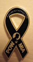 "*POW/MIA ""Ribbon Bow""- Lapel pin,Tie Tack,Hat pin"