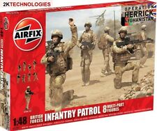 Airfix A03701 British Forces Infantry Patrol Kit 1/48th Scale T48