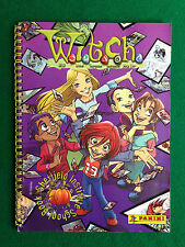 ALBUM figurine WITCH W.I.T.C.H. , Ed. Panini (2002) , Completo !!!
