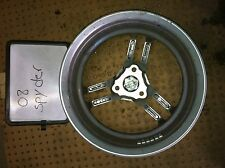 2008 CAN AM SPYDER GS990 GS 990 SEMI AUTO FRONT WHEEL RIM