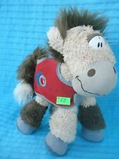 Peluche n°I68 : GALUPY cheval Diddl 22cm