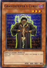 3x Yugioh SDMA-EN008 Gravekeeper's Curse Common Card
