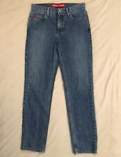 455a75d1b6c3 Guess Jeans Womens Blue Washed Denim Skinny Tapered Leg Jeans Pants Sz 30x30