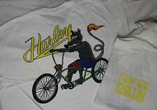 HURLEY 'WE'RE CHILLIN' MENS  T-SHIRT WHITE SIZE XLARGE *BRAND NEW*