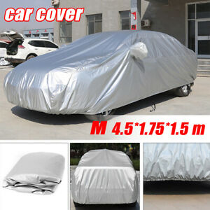 Full Car Cover UV Rain Ice Snow Resistance Waterproof All Weather Protection
