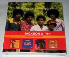 JACKSON 5 Diana Ross Presents / ABC / Third Album / Dancing Machine EU 4 CD Box