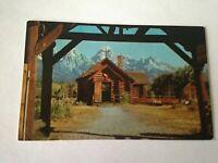 Vintage Postcard Chapel of The Transfiguration Moose Wyoming     M1