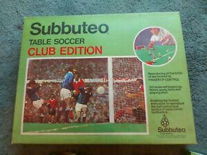 Vintage 1977/78 Subbuteo Table Soccer Club Edition Football Game