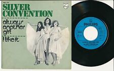 "SILVER CONVENTION 45 TOURS 7"" BELGIUM ALWAYS ANOTHER GIRL"