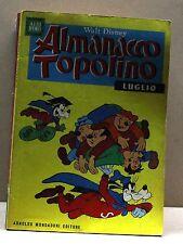 ALMANACCO TOPOLINO - LUGLIO 1968 [fumetto, albi d'oro, n.7, walt disney]